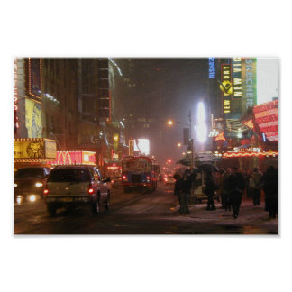 Times Square On 42Nd Street Print
