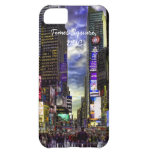 Times Square Photo in HDR iPhone 5C Covers
