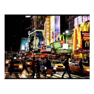 Times Square Post Postcard