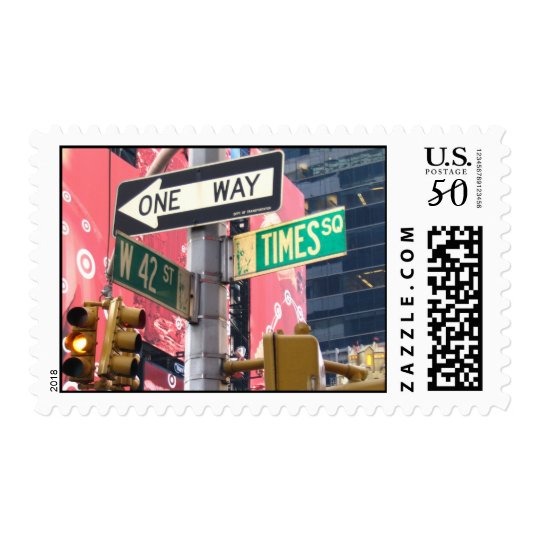Times Square Postage