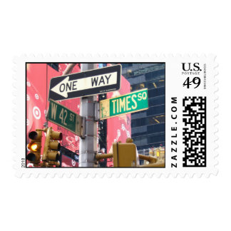 Times Square Postage Stamp