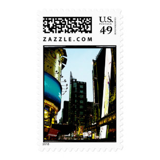 times Square Postage Stamps