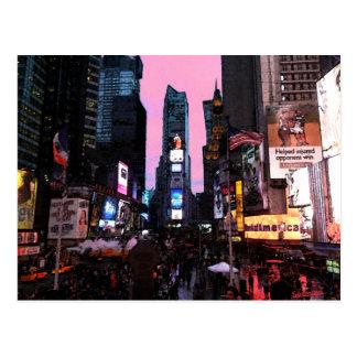 Times Square Postcards