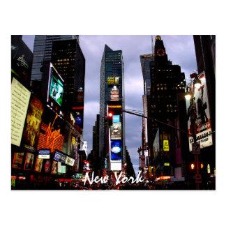Times Square Postcard New York Souvenir Card
