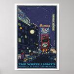 Times Square Posterette de los años 20 del vintage Impresiones