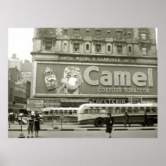 Times Square que hace publicidad: 1943 Impresiones