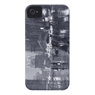 Times Square Rain (vintage) Case-Mate iPhone 4 Case