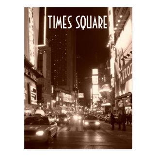 Times Square (sepia) Postcard