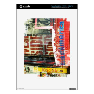 Times Square Skin For iPad 3