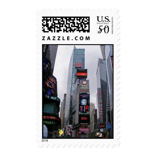 Times Square Stamp