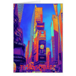 TIMES SQUARE STATIONERY NOTE CARD