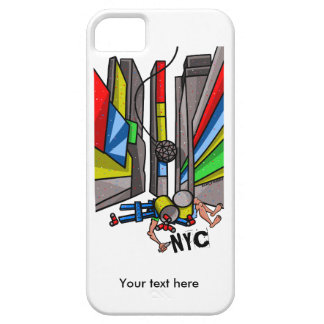 Times Square The Day After N.Y.E. celebrations iPhone SE/5/5s Case
