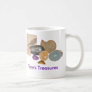 Time's Treasures Classic White Coffee Mug