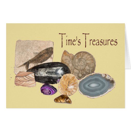 Time's Treasures Note Card