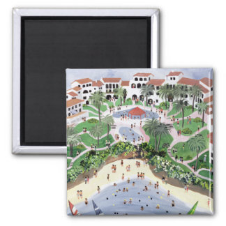 Timeshare Temptation 1990 2 Inch Square Magnet