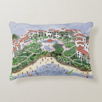 Timeshare Temptation 1990 Accent Pillow
