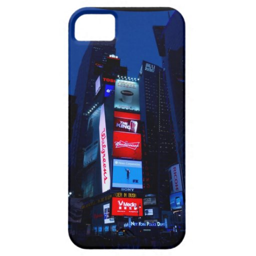 Timessquare iPhone 5 Carcasa