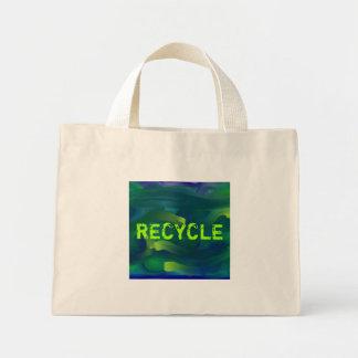 timewarpII, RECYCLE Mini Tote Bag