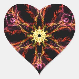Timey Wimey Heart Sticker