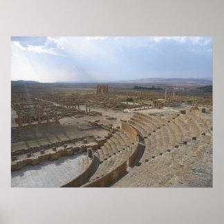 Timgad, Argelia Póster