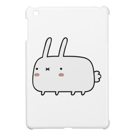 Timid Rabbit iPad Mini Cases