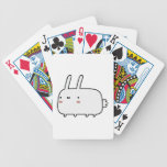Timid Rabbit Playing Cards