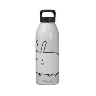 Timid Rabbit Water Bottle