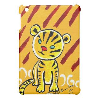 Timid Tiger iPad Mini Case