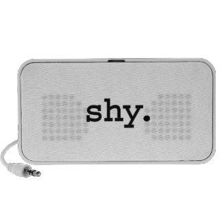 tímido iPod altavoz