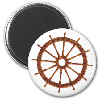Timing gear steering wheel 2 inch round magnet
