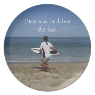 Timing is Everything; Customizable Dinner Plate