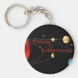 Timing is Everything Key Chains