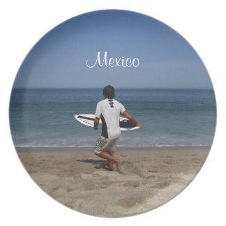 Timing is Everything; Mexico Souvenir Melamine Plate