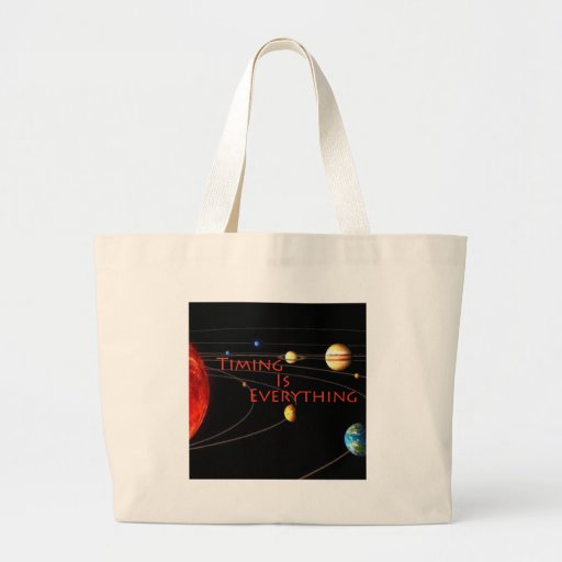Timing is Everything Tote Bags