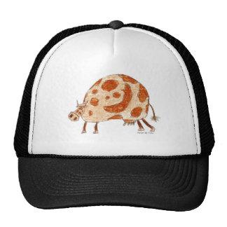 Timi's cow trucker hat