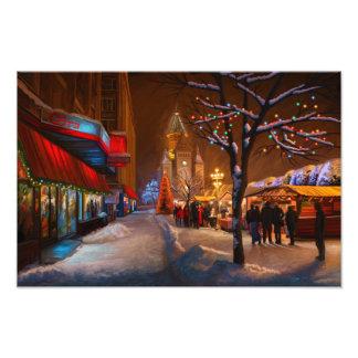 Timisoara Christmas Market Photo Print