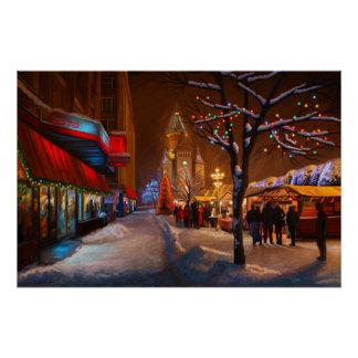 Timisoara Christmas Market Poster