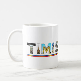 timisoara city romania landmark inside text symbol coffee mug