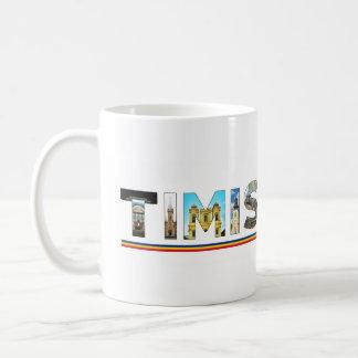 timisoara city romania landmark inside text symbol coffee mug