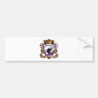 timisoara del poli del emblema etiqueta de parachoque