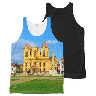 Timisoara dome landmark architecture travel touris All-Over-Print tank top
