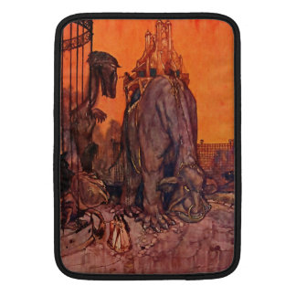 Timlin Ship That Sailed To Mars Vintage Fantasy Sleeve For MacBook Air