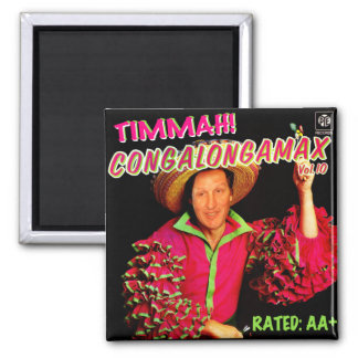 TIMMAH! 2 INCH SQUARE MAGNET