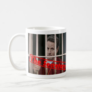 Timmeh Geithner Behind Bars Classic White Coffee Mug