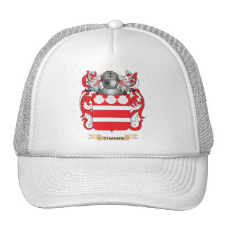 Timmis Family Crest Coat of Arms Mesh Hat