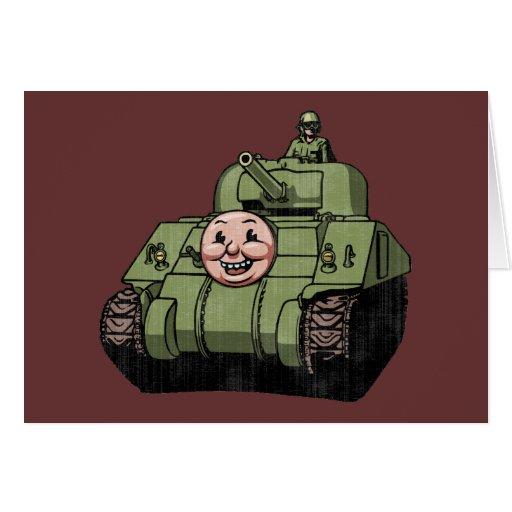 Timmy el tanque tarjeta de felicitación