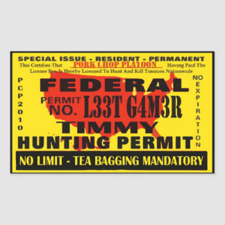 Timmy Hunter Sticker