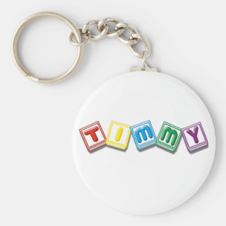 Timmy Keychain