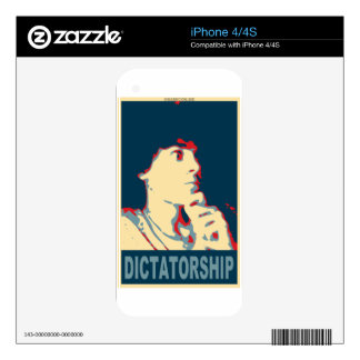 Timmy Naval for 2036 president Decal For iPhone 4S