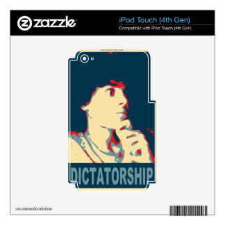 Timmy Naval for 2036 president iPod Touch 4G Decal